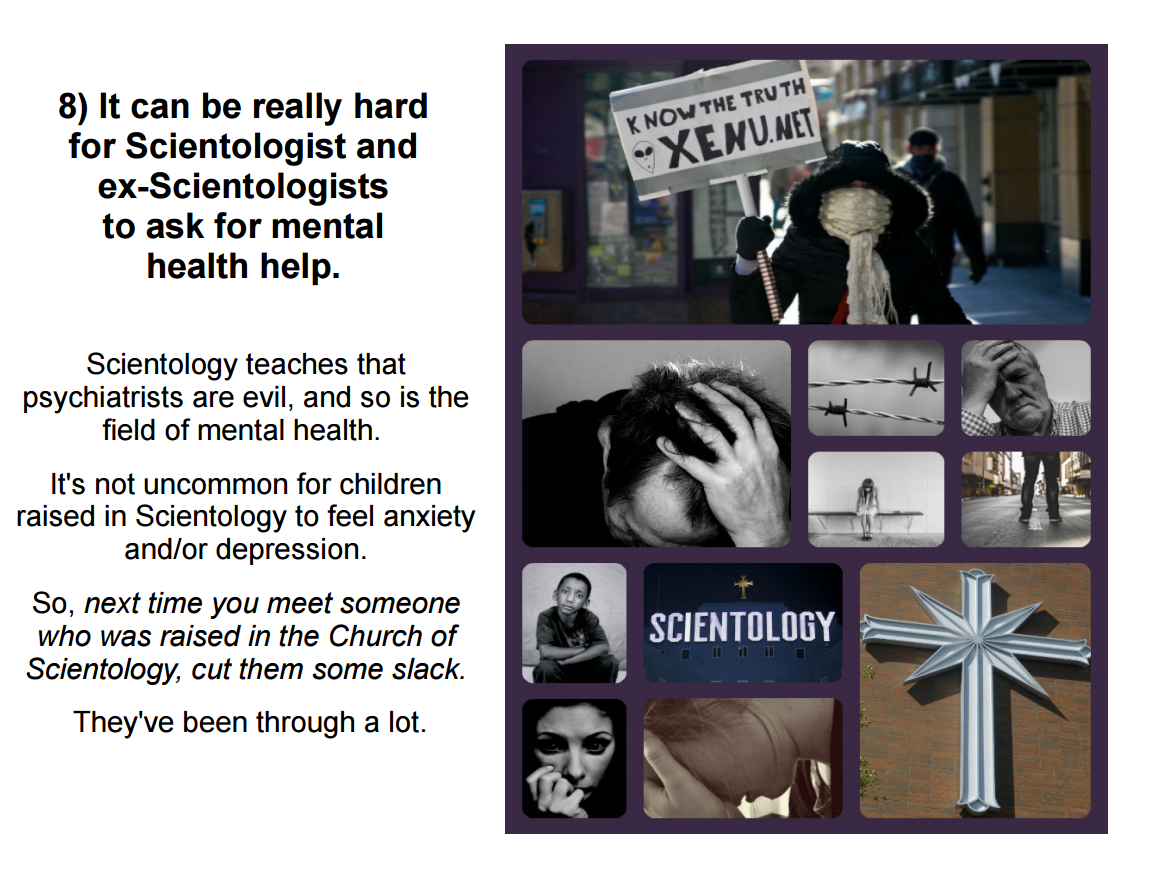 Can someone explain to me what scientology is?