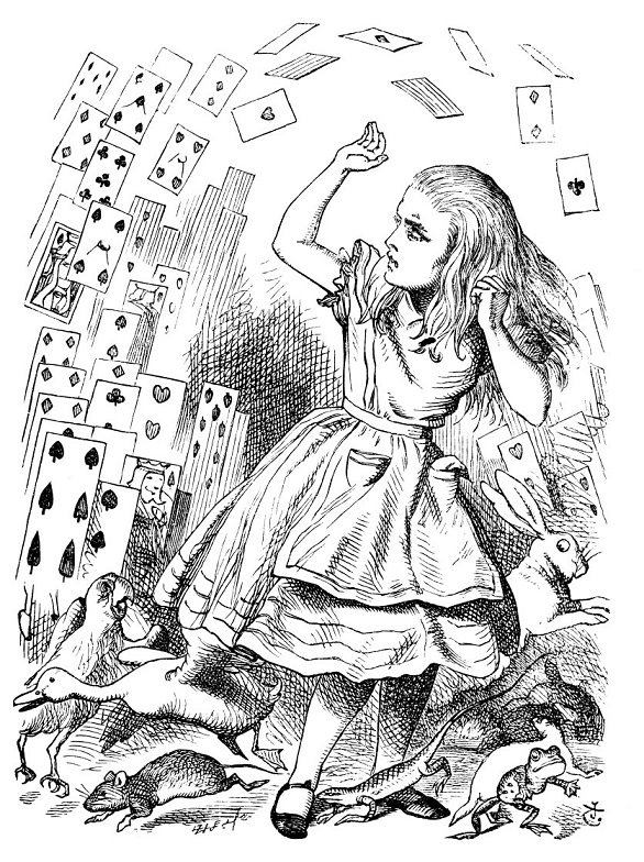 alice-in-wonderland-alice-being-attacked-by-pack-of-cards