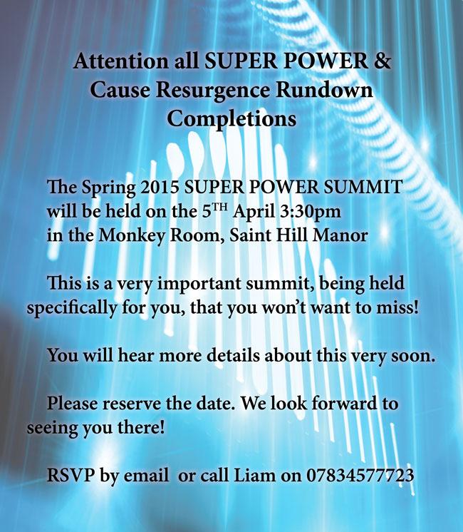 SUPER PWOER SUMMIT