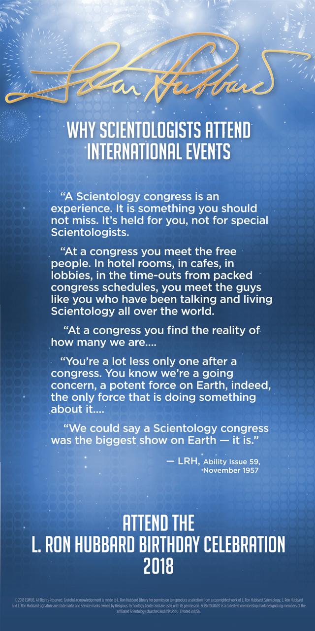 Scientology Events
