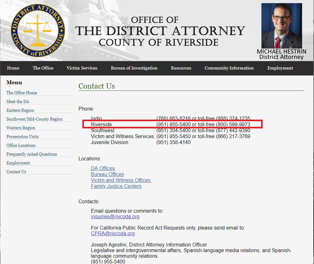 Scientology's Riverside County Schmoozing