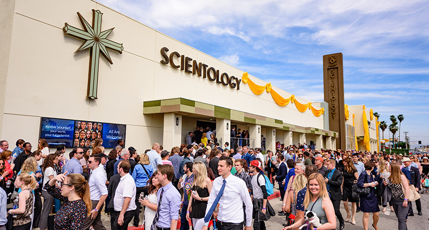 Scientology is white